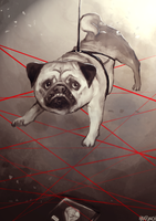 Spy Pug by HaxPunch