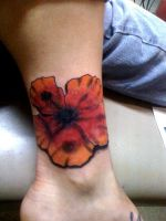 Flower Tattoo by RedneckTa2Man