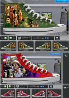 """New """"Who"""" shoe designs by jlfletch"""