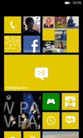 Startscreen on my Windows Phone 8 - Lumia 920 by ProjektGoteborg