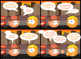 SC357 - Wallace's Hot Dogs by simpleCOMICS