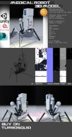Medical Robot 3D Model //for SALE by ChrisIsaak