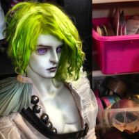 New Boy's Lime wig by batchix