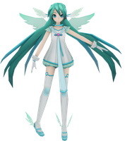 Vidro angel Miku by Nene-megurine