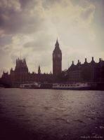 River Thames, Parliament and Big Ben II by MaRyS90