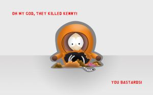 Wallpaper Kenny South Park by Fagoon