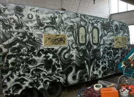 part of our wohnzilla airbrush caravan project... by graynd