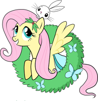 Fluttershy Ghost of Xmas Past by SouthParkTaoist