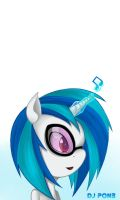 DJ Pon-3 by InsanitylittleRed