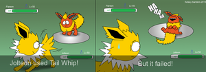 South Park: Jolteon Used Tail Whip by KelseyEdward