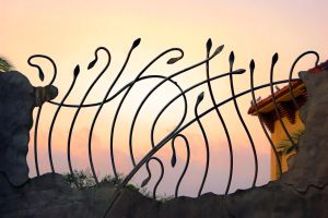 ARTNOUVEAU_FENCE by My-he-art