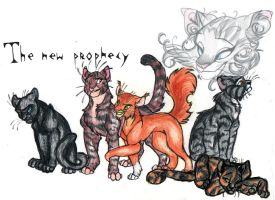 Prophecy Cats by blackunia