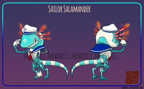 [CLOSED] PREMIUM GINSHO Epsilon: Sailor Salamander by Mewdrill