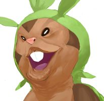 Chespin by Gumbogamer