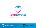 Love and Water Logotype by logopound
