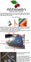 Plushie Converse Tutorial by AshFantastic