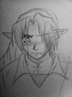 Sad Link by animaniake