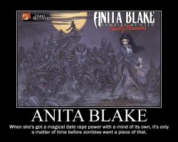 Anita Blake Motivational by easolinas