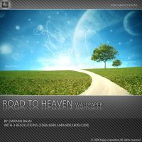 Road To Heaven Wallpaper by darpan-aero