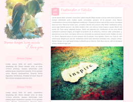 Blogger theme by llenalove