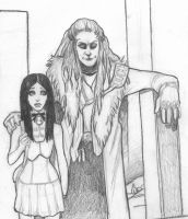 Shilo and Graverobber by quotidia