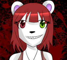 christina the teddy five nights at freddy's by ChicaSuperKiller