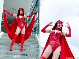 W13 -Scarlet Witch by BlizzardTerrak