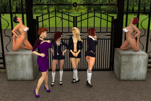 At the gates by psychicdelica