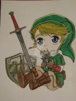 Fan Art Link baby 3 Finished by TheriaRose