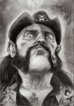 Tribute Lemmy Kilmister- Caricature by madmaxsol
