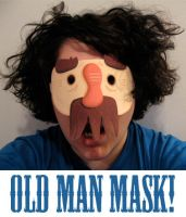 Old Man Mask Download by TRAVALE