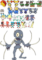 Smogon April Fools' Day Sprites and Miscellaneous by Quanyails