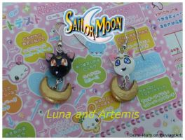 Luna and Artemis Earrings by Demi-Plum