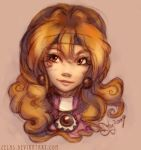 Lina-chan says hi -colored by zelas