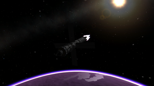 Eve Lander Entering Orbit by menalaos1971