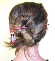 Hannah's Hair Wands on an Actual Person 2 by Smirkat