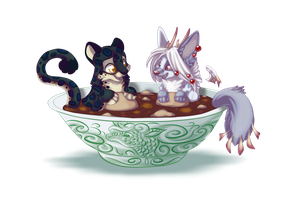 Soup for two by Lazeros