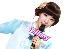 [Render] Tiffany MBC MC-ing#2 by HanaBell1