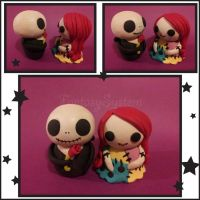 Nightmare Before Christmas Dolls : Jack x Sally by FantasySystem