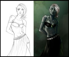 Drow 2 by iara-art