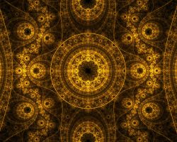 Golden Fractal by aperson4321
