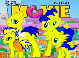 The Simpsons (my little pony version) by CaptianOfRoyalGaurds
