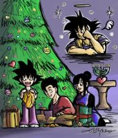 Merry Christmanukkah 2005 by lauraneato