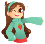mabel pines by Miriee