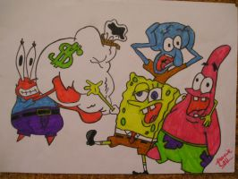Spongebob by LuciQCZ