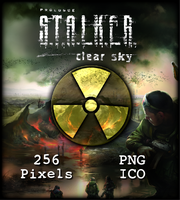 Stalker Clear Sky Icon by WaywerdWolf