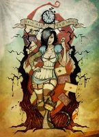 Alice in ZombieLand by johnny-no-cash