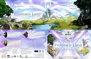 The Promised Land Flyer by psikodelicious