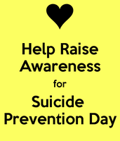 Today is Suicide Prevention Day by chemicalkid101