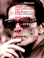 Pasolini On Being A Real Marxist by DasBishop666